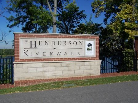 Henderson Riverwalk Brick Sign